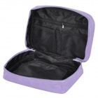 Resistente enredadera acuática Viajes Oxford Tela Wash Bag - Purple Light