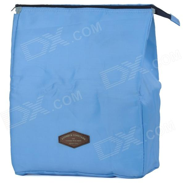 Creeper Oxford Lunch  Picnic Insulated Bag - Blue (15L)