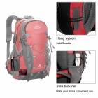 Local Lion Outdoor Mountaineering Nylon Backpack Bag - Red (40L)