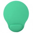 11H05 Wrist Support Cloth + EVA Mouse Pad - Green + Black