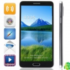 "KVD N9000 MTK6582 Quad-Core Android 4.2.2 WCDMA Bar Phone w/ 5.7"" IPS HD, OTG, Wi-Fi, GPS - Black"