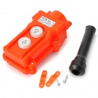 COB 61 Rainproof Push Button Switch - Orange + White + Multicolored (250~ 380V)