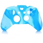 Protective Silicone Case Cover for XBox One - Blue + White