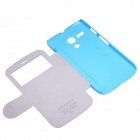 NILLKIN Protective PU Leather + PC Case for MOTO G - Blue