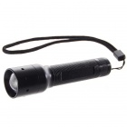 Luz de la antorcha C78-Flood-Throw Zoom 130-Lumen LED Flashlight (1 * AA)