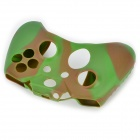 Protective Silicone Case for XBOX One Controller - Army Green + Brown