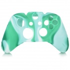 Protective Silicone Case Cover for XBox One - Green + White