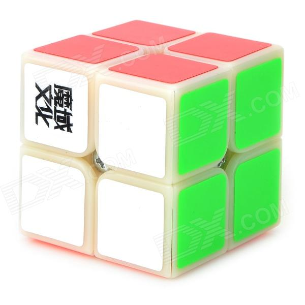 YJ Brain Teaser 2 x 2 x 2 Magic IQ Cube - Multicolored shengshou cube 2 x 2 x 2 mini cube black base fun educational toy