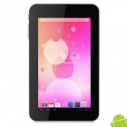 "A70X 7.0"" Android 4.2 Tablet PC w/ 512MB RAM / 4GB ROM - White + Black"