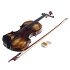 William 4/4 Full Size Débutant Rétro violon Starter Kit - Brun + Noir