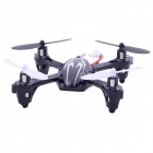 X6 2.4G 4-CH Remote Control Quadcopter Toy - White + Black