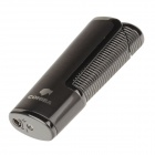 COHIBA 5374 Mini Portable Jet Flame Strong Fire Windproof Refillable Lighter - Tarnish