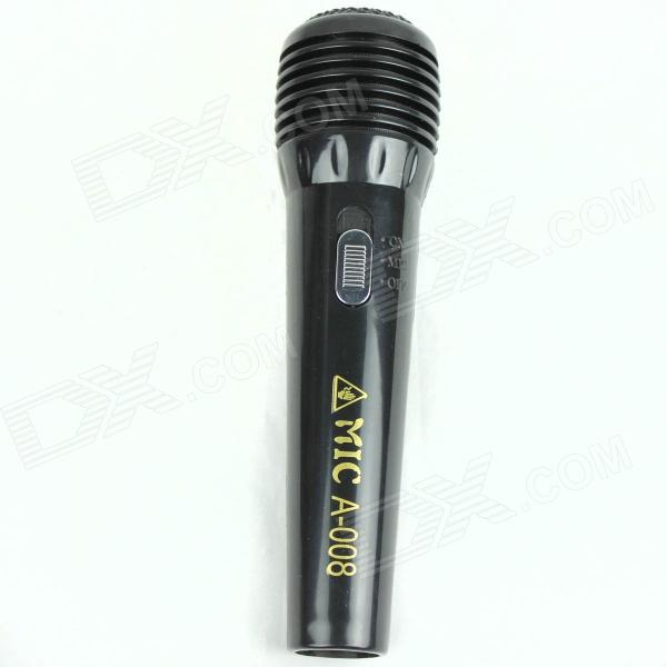 Shock-Your-Friend Electric Shock Microphone - Black (Practical Joke)