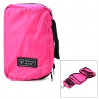 Bad Gadgets lagring Folding hengende Bag - Black + fuksia