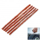 Car Tyre Repair Plastic Sticks - Wine Red (5 PCS)
