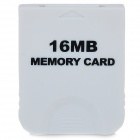 Universal 16MB Memory Card for WII/NGC - White