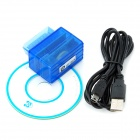 UIFTECH U680 Car Data Recorder - Translucent Blue