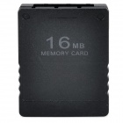 16MB Memory Card for PS2 - Black