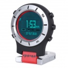 Spovan Elementum II Red-A Multifunction Handheld Sport Watch - Red