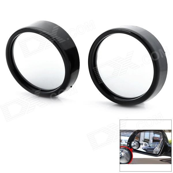 YASHIKI BM214S Mini 3R Round Mirrors - Black + Mirror Silver (2 PCS) r b parker s the devil wins