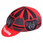 TOPCYCLING Fashion Outdoor Sports Sweat-absorbent Hat - Black + Red