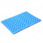 Stylish Folding Foam Seat Cushion - Blue + Black