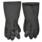 Thick Silicone Gloves - Black (Pair)