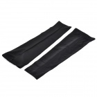 TOPCYCLING Recycling Sport Arm Elbow Support Oversleeve Arm Warmer - Black (XL / Pair)