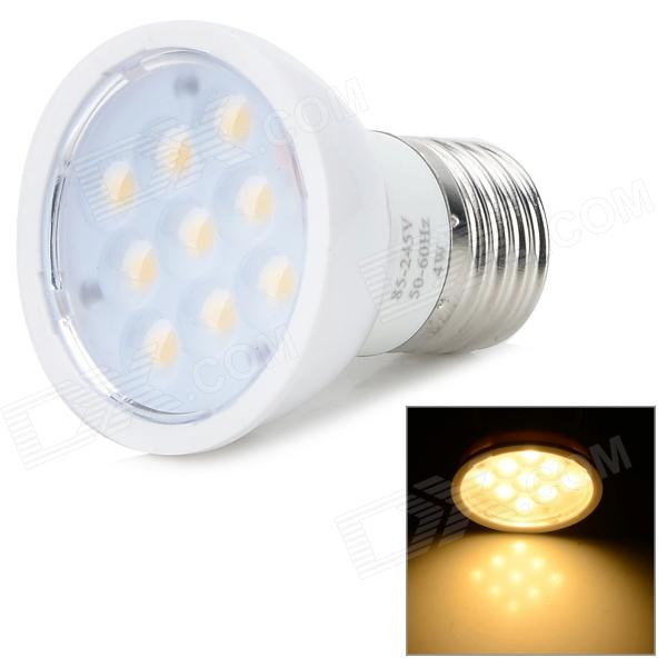 ZDM ZDM-E274W9P-AKV-P E27 4W 300lm 3200K 9-SMD 2835 LED Warm White Bulb (85~265V) - DXE27<br>Color White + Silver Color BIN Warm White Brand ZDM Model ZDM-E274W9P-AKV-P Material Aluminum + PC Quantity 1 Piece Power 4W Rated Voltage AC 85-265 V Connector Type E27 Chip Brand Epistar Emitter Type OthersSMD 2835 LED Total Emitters 9 Theoretical Lumens 300~350 lumens Actual Lumens 250~300 lumens Color Temperature Others2800~3200K Dimmable no Beam Angle 60 ° Other Features Environmental and large lighting area matte lens and smooth PC shell. Packing List 1 x Bulb<br>