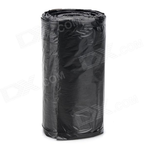 PE Trash Garbage Bag Roll - Black (50 x 60cm) handi bag super value pack trash bags 30gal 69mil 36 x 29 5 black 60 box