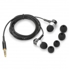 FANDI-A Universal 3.5mm MP3 In-ear Earphone - Black