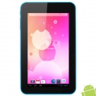 "A70X 7.0"" Android 4.2 Tablet PC w/ 512MB RAM / 4GB ROM - Blue + Black"