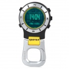 Spovan Elementum-II-Yellow-B Multifunction Handheld Watch w/ Barometer Compass - Black + Yellow
