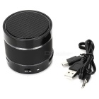 3-in-1 Portable Bluetooth v3.0 Stereo Speaker w/ Microphone / TF / AUX / Hands-Free - Black
