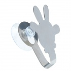 SF-001 Cartoon Style Stainless Steel U Shape Hook - Silver