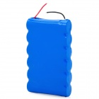 3.7V 12000mAh Rechargeable 6 x 18650 Li-ion Battery Pack - Blue