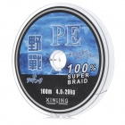 YZ 4.0 PE Fishing Wire - Grey (100m)