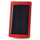 1BA-2 ''10000mAh'' Dual USB Solar Power Bank for IPHONE / IPAD / IPOD / HTC / Samsung - Red + Black