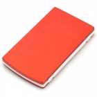 ''10000mAh'' Dual USB Solar Power Bank for IPHONE / IPAD / IPOD / HTC / Samsung - Red + Black