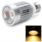 E27 9W 760lm 3200K COB LED Warm White Spotlight Bulb (100~240V)