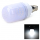 "SENCART E12 1.8W ""140lm"" 6000K 15 x SMD 5730 LED White Light Bulb - White (AC 220~240V)"