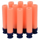 Suction Cup Foam Darts Bullets for Toy Gun Pistol - Orange (10 PCS)