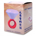 Valentine's Day Gift Diamond Ring Style 5W White LED Light Lamp - Blue + White (5V)