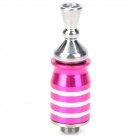 SM20 Electronic Cigarette Atomizer for Ego - Deep Pink + Silver
