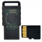 SANDISK Class 4 8GB Micro SD / TF Card w/ Card Reader - Black