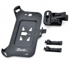 Detachable Mini Car Air Vent Mount Holder for Samsung Galaxy Note 2 / N7100 - Black