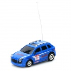 Mini Rechargeable 4-CH 1:48 R/C Offroad Car w/ Remote Control - Blue + Black