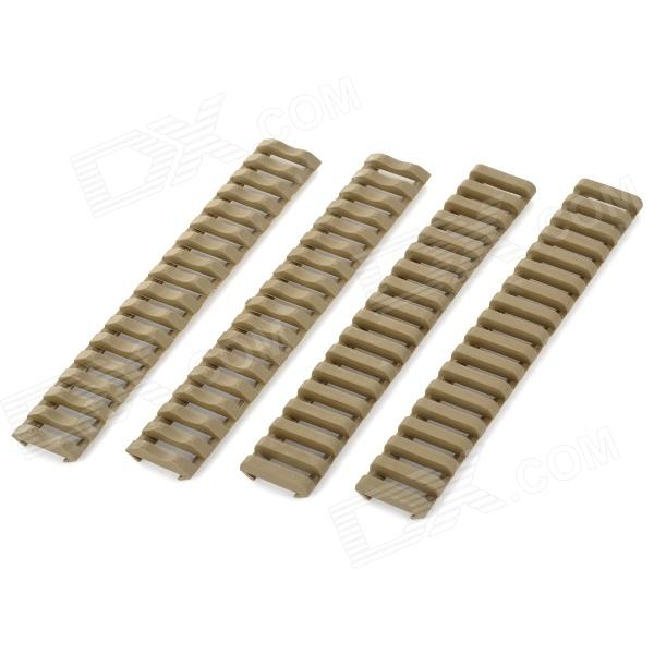 LSON Protective Plastic 21mm Rail Protector - Army Green (4 PCS)