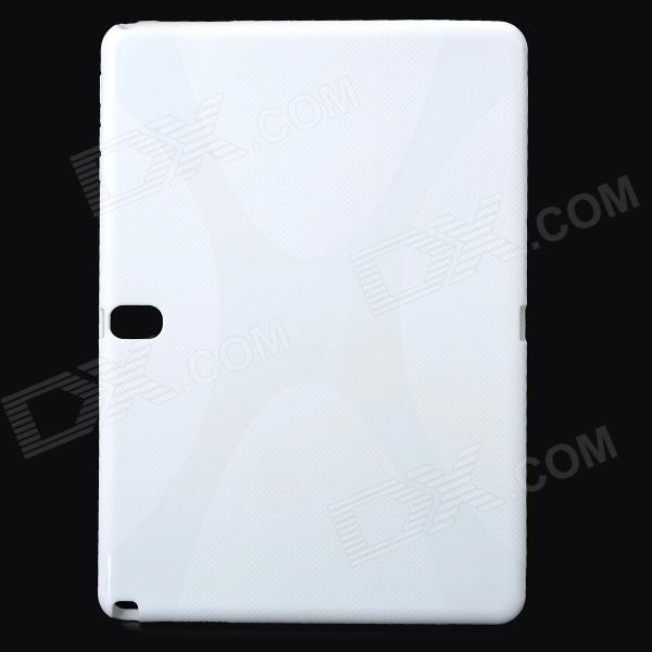 Protective TPU + PVC Case w/ Screen Protector for Samsung Galaxy Note 10.1 2014 Edition P600 protective tpu pvc case w pet screen protector for samsung galaxy note 10 1 2014 edition p600