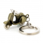 Creative Motorcycle Style Zinc Alloy Keychain - Antique Brass